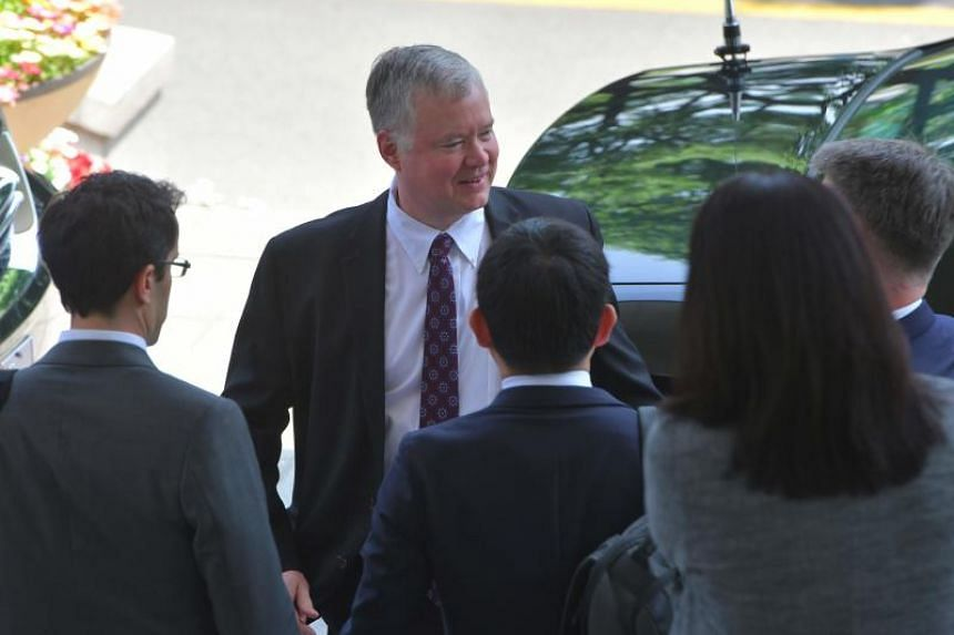 Mr Stephen Biegun, the US special envoy for North Korea who has led working-level talks, is scheduled to arrive in Seoul on June 27, 2019.