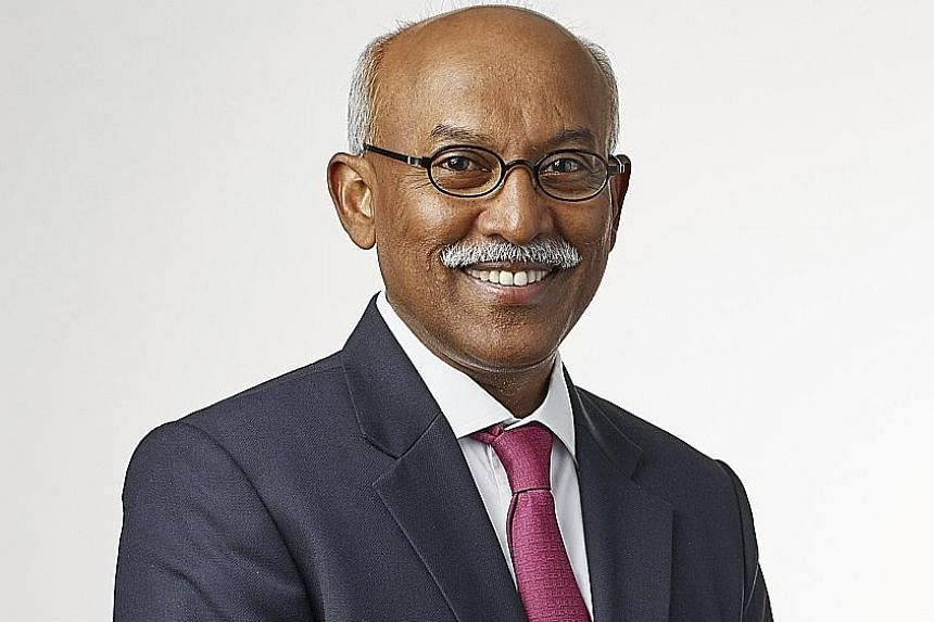 SGX president Muthukrishnan Ramaswami will leave on Oct 1 after 12 years in the post.