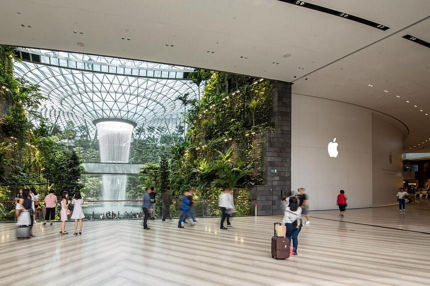 Apple's second store in Singapore will open its doors at Jewel Changi Airport at 10am on July 13.