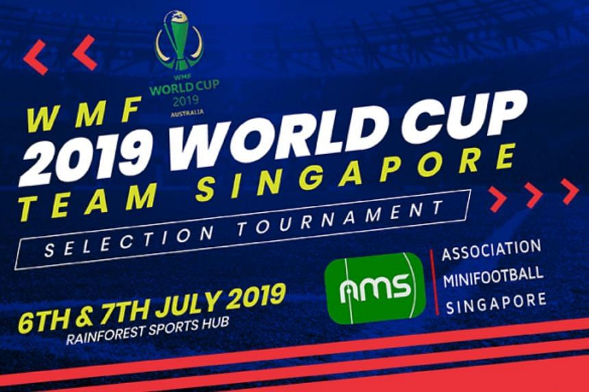 The Association of Minifootball Singapore are calling on weekend warriors to attend trials for the chance to to represent the Republic at the World Minifootball Federation World Cup 2019 in Perth, Australia.