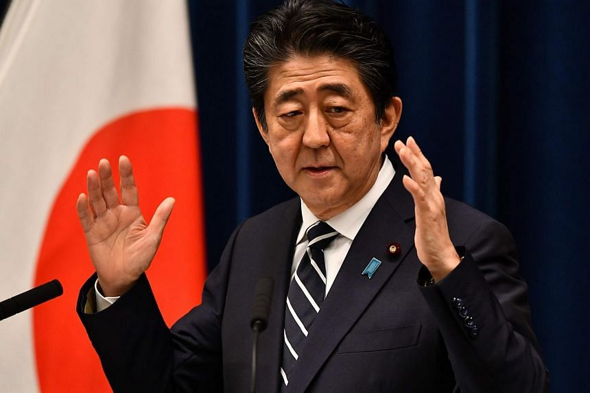 Prime Minister Shinzo Abe said Japan, as a flag-bearer of free trade, would strongly promote improvement in a multilateral trade system.
