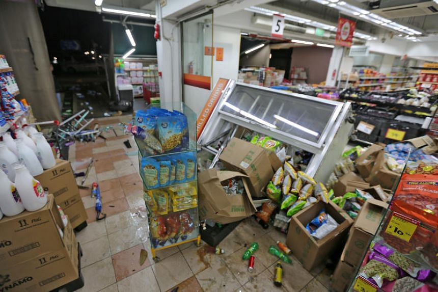 A 37-year-old man was arrested for drink driving after he lost control of his vehicle and crashed into products outside a supermarket in Ang Mo Kio on June 28, 2019.