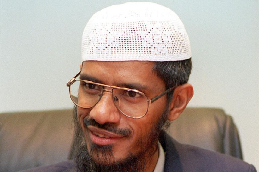 Islamic preacher Zakir Naik is wanted by New Delhi to face money laundering charges.