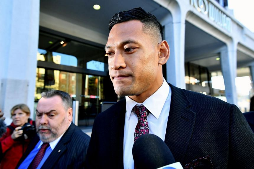 """Israel Folau's contract for Australia and Super Rugby team New South Wales Waratahs was torn up after he was found guilty of a """"high-level"""" breach of code of conduct."""