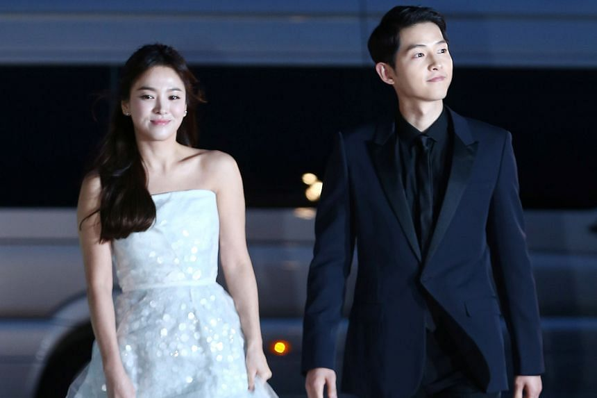 Song Joong-ki and Song Hye-kyo, seen here in happier days in 2016, are divorcing due to differences in personalities.