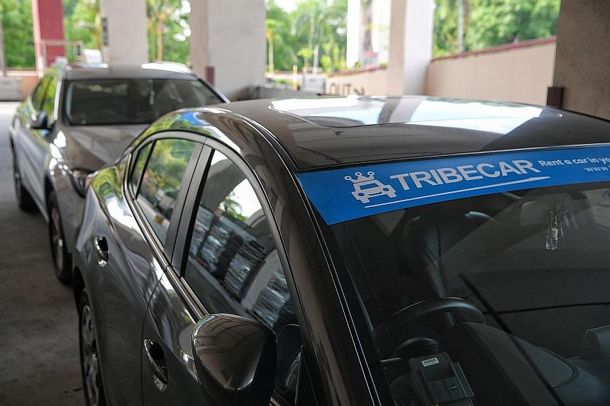 Tribecar's profit for the 12 months ended June 30 last year was $615, down from $37,928 the year before. Users have flagged it for renting out cars with unpaid road taxes, bald tyres and unrepaired damage.