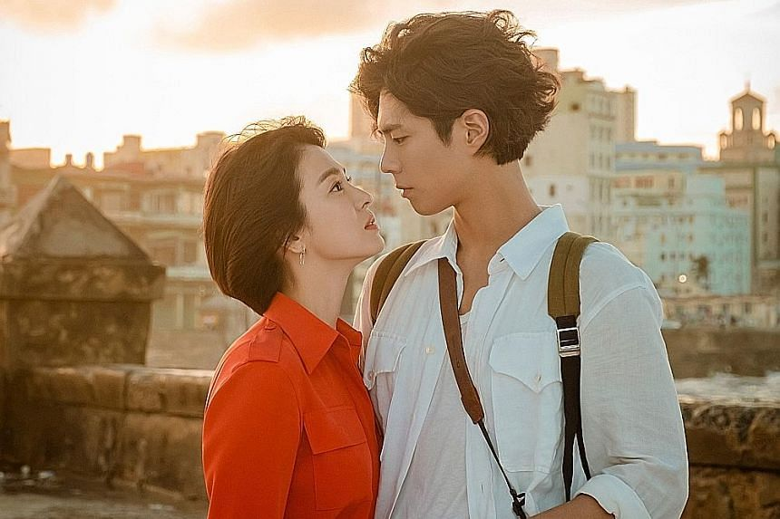 Park Bo-gum recently starred in the romance drama Encounter with Song Hye-kyo, leading to speculation that he is the reason for the split.