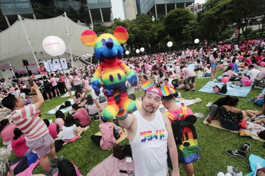 Mr Garry Moss, 38, said he had attended every Pink Dot since the first one in 2007.