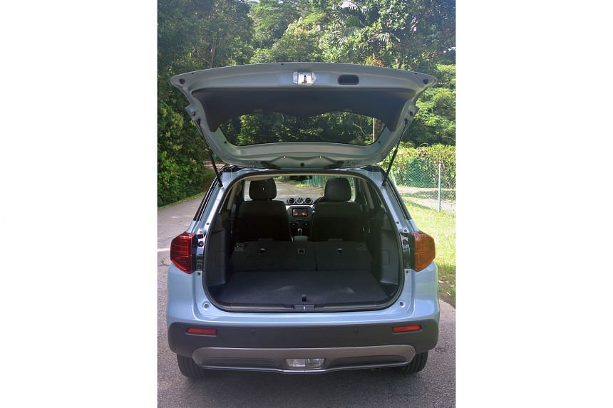 The squarish, nearly flat boot with rear seats folded down will appeal to families and active singles.
