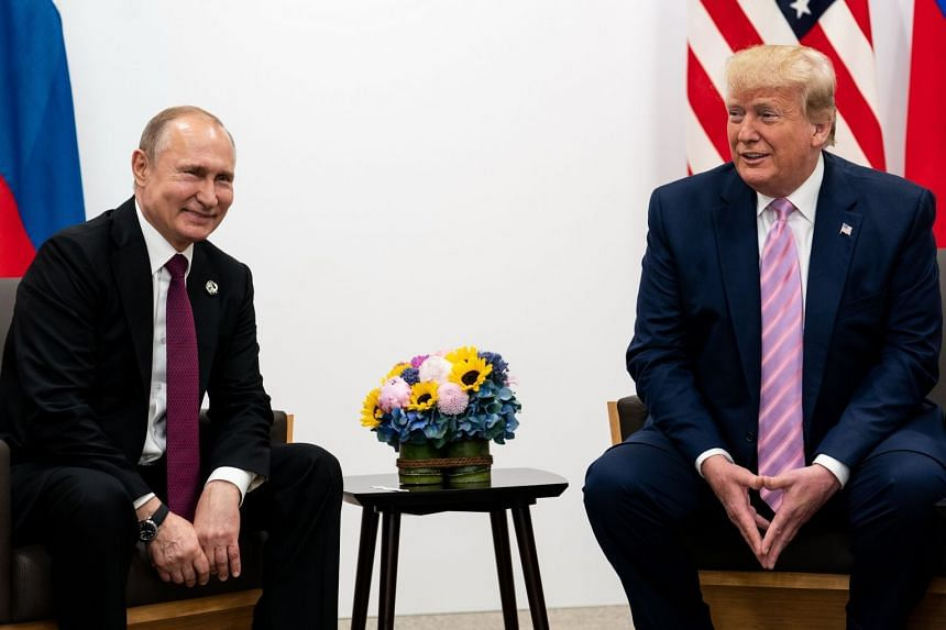 Trump meeting Putin on the sidelines of the Group of 20 summit.
