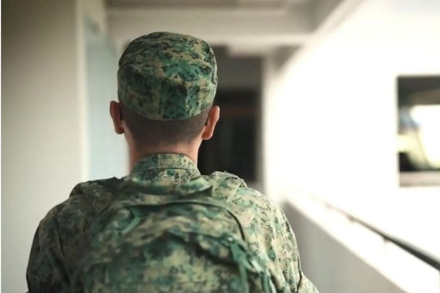 A still from the We Support NS tribute video, part of an initiative by the Ministry of Defence to thank all NSmen from the Singapore Armed Forces and Home Team.