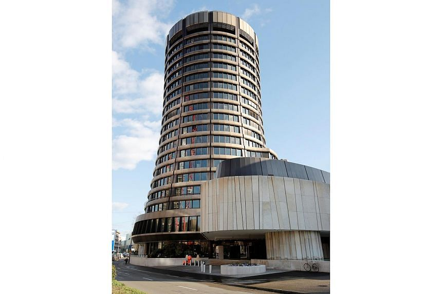 The headquarters of the Bank for International Settlements in Basel, Switzerland.