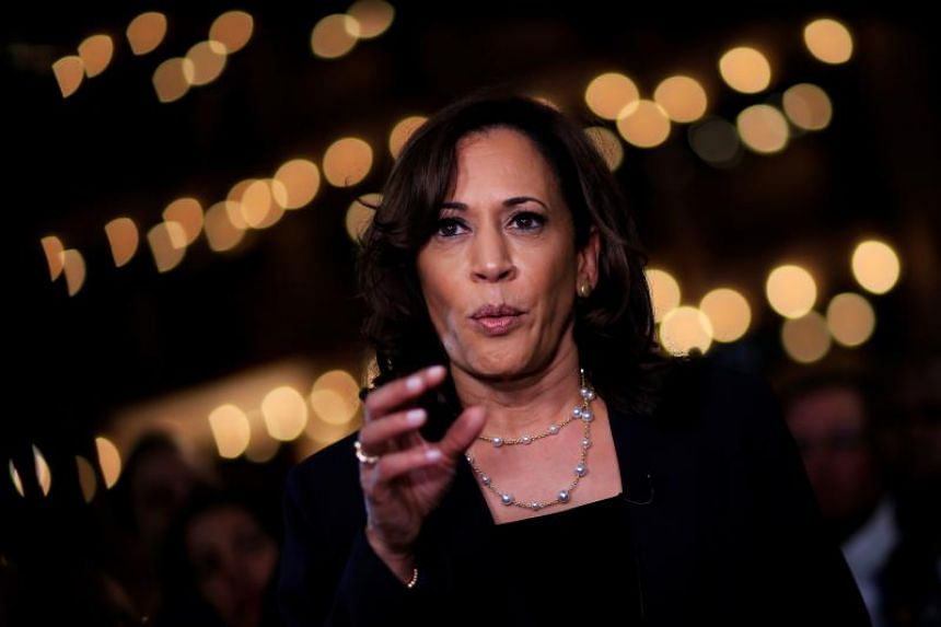 Ms Kamala Harris, who is of Indian and Jamaican descent, drew national attention after a rock-solid performance at a Democratic Party debate.