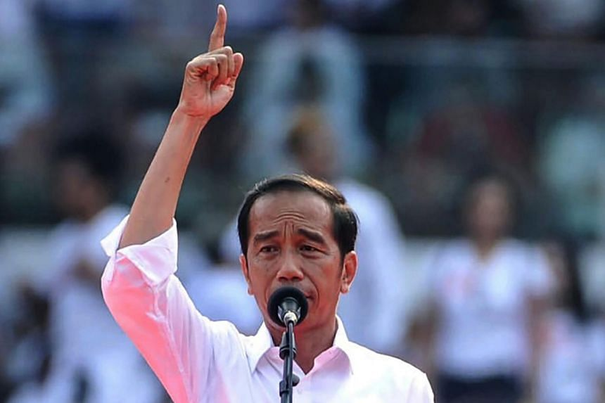 Indonesia's general election commission officially declared incumbent President Joko Widodo and running mate Ma'ruf Amin as the winners of the April 17 presidential election on June 30, 2019.