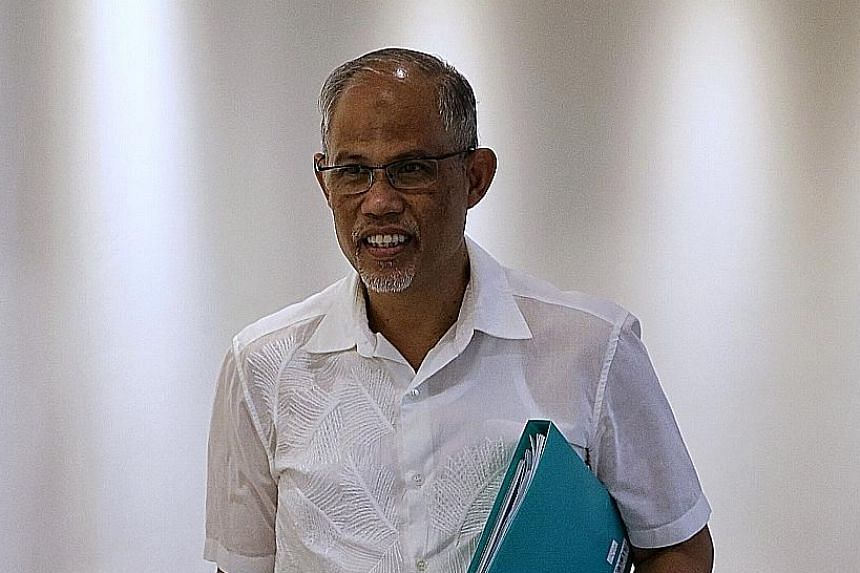 Minister-in-Charge of Muslim Affairs Masagos Zulkifli