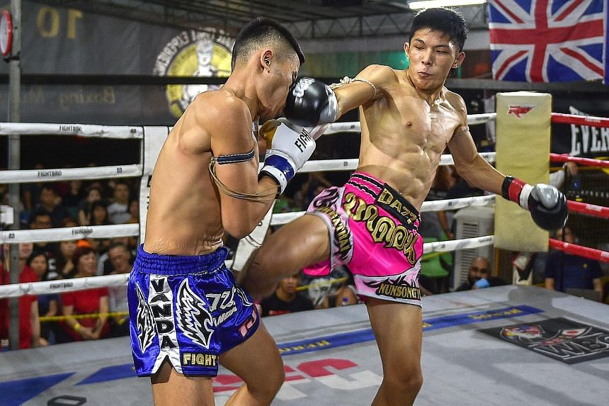 Muay Thai sports arena in Southeast Asia
