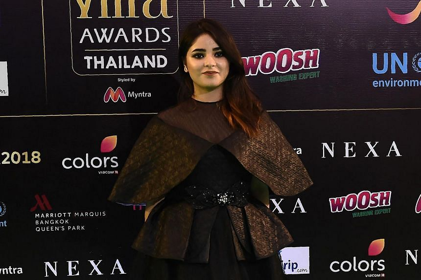 "Zaira Wasim said she was quitting acting because becoming a Bollywood star had ""damaged"" her relationship with God."
