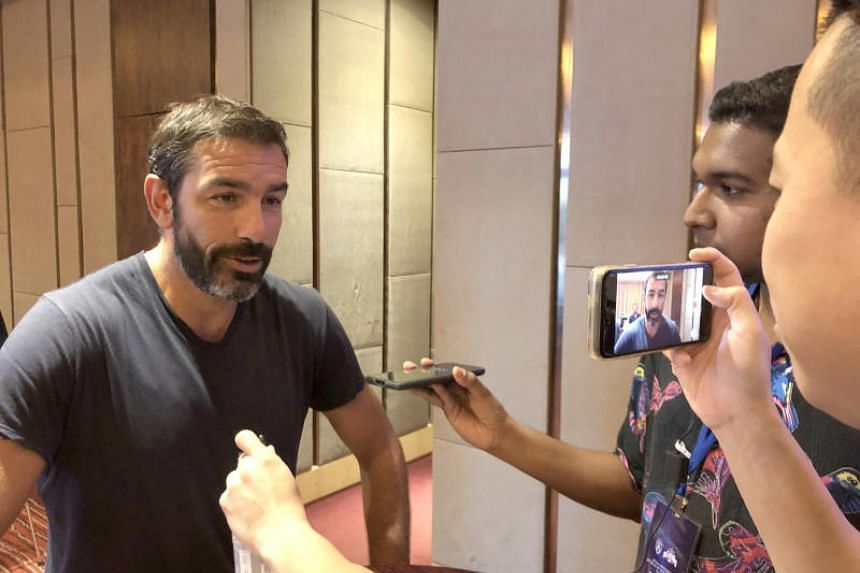 Robert Pires told The Straits Times in Johor Baru ahead of Sunday's Johor Darul Ta'zim All-Stars charity game that the important thing is to find the players to rebuild the team because it is important for Arsenal to win the Premier League.