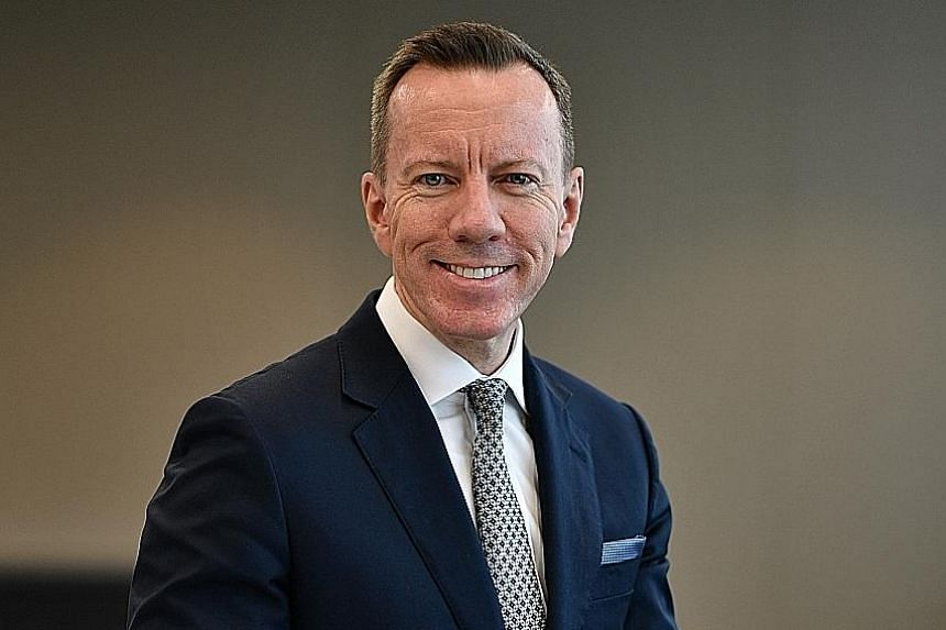 Mr John Lombard, chief executive of NTT's business in the Asia-Pacific excluding Japan and Australia, is unfazed by global challenges because of the range of services NTT provides.
