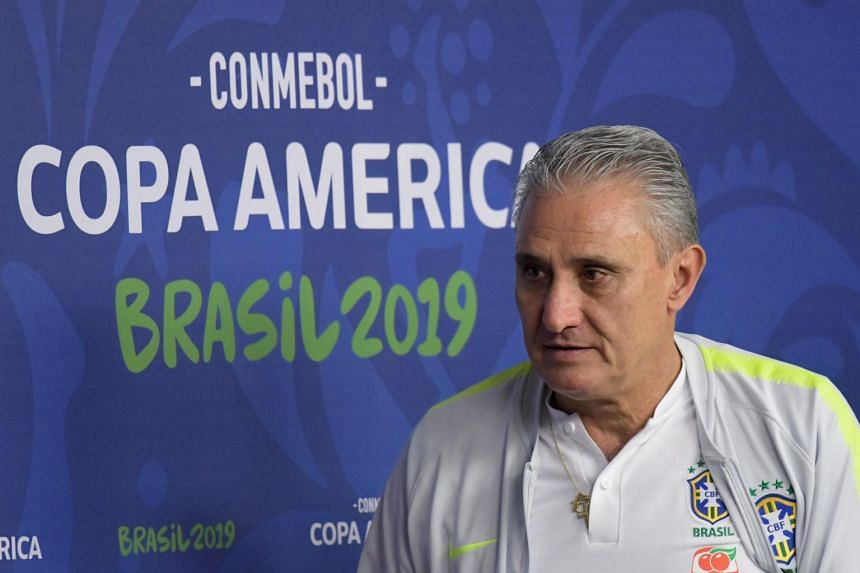 Tite took over from the sacked Dunga following Brazil's poor performance at the 2016 Centenario Copa America.
