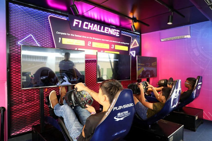 The VR experiences will make their debut at the F1 Power Up truck, which is making pit stops around Singapore from now till September.