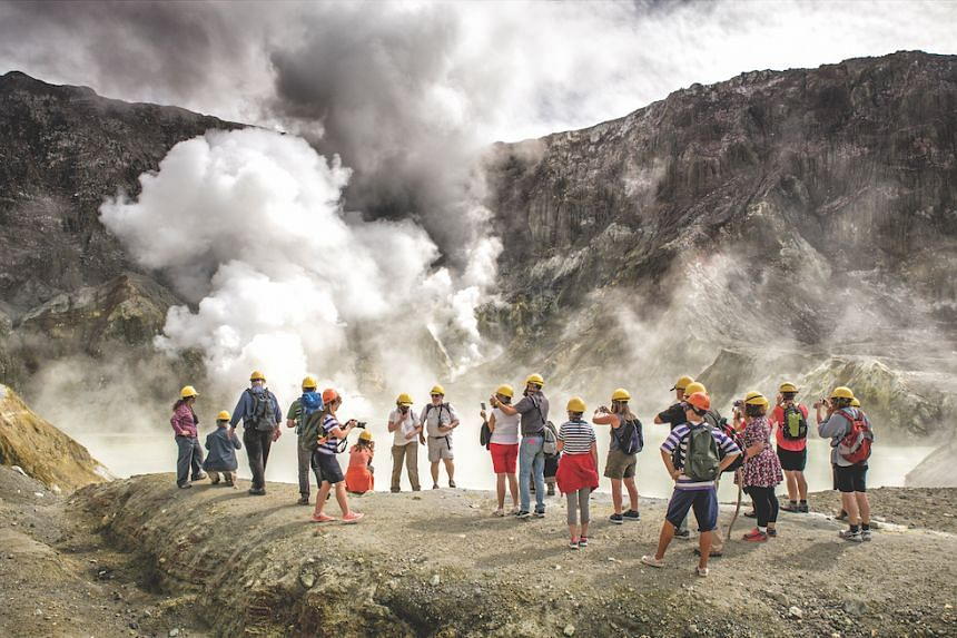 Pay a visit to White Island to experience walking on an active volcano. PHOTO: TOURISM BAY OF PLENTY