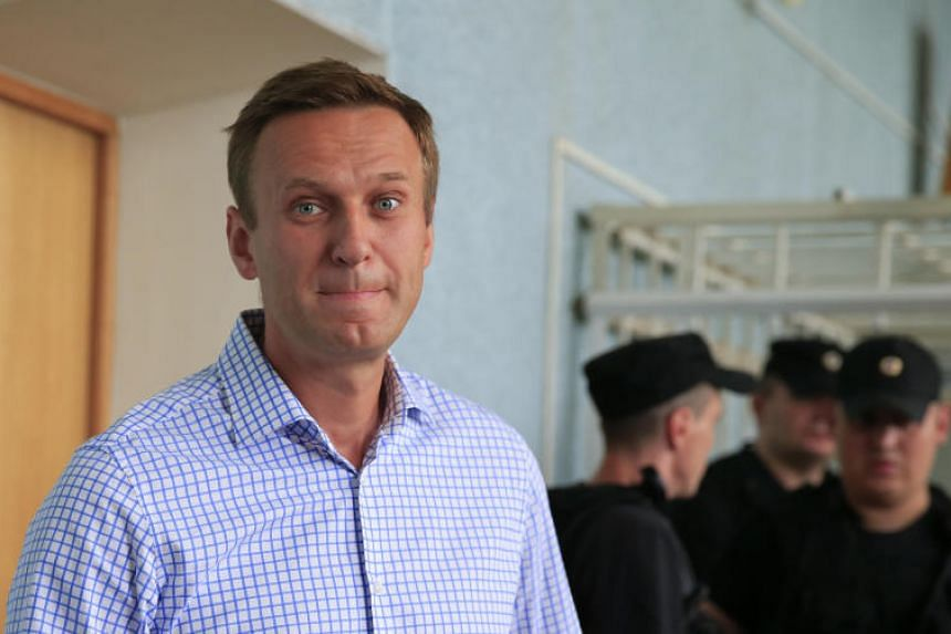 Russian opposition leader Alexei Navalny was among more than 500 protesters detained by police while rallying in Moscow to call for the punishment of police officers involved in the alleged framing of a journalist.