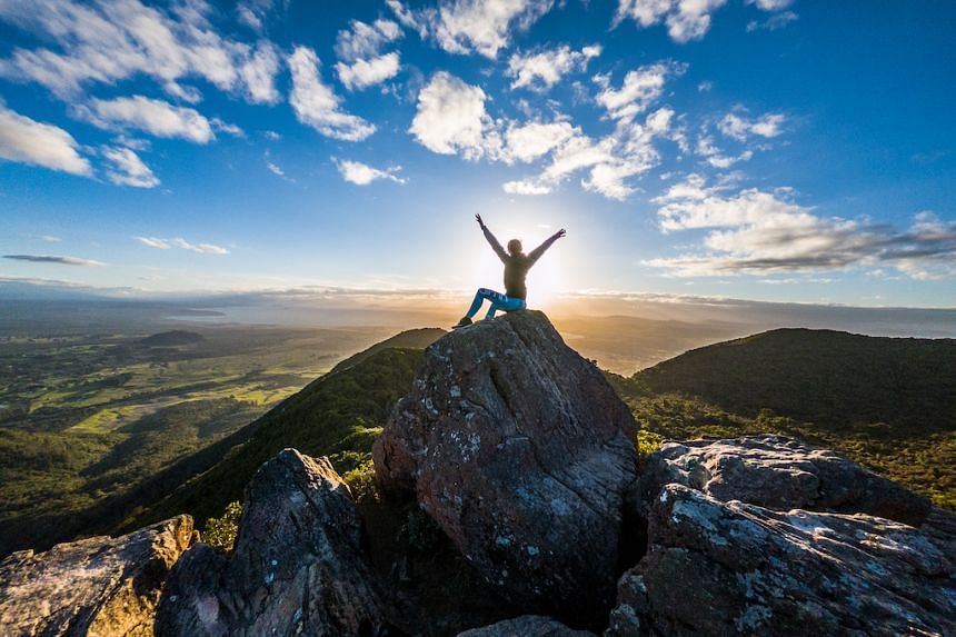 Enjoy the view from the summit of Mt Tauhara. PHOTO: DESTINATION GREAT LAKE TAUPO