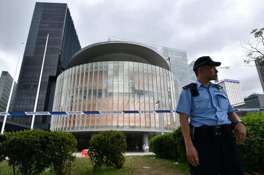 Hong Kong police tactics of withdrawal, allowing protestors to break in and ransack the Legco, mystified even ex-officers.