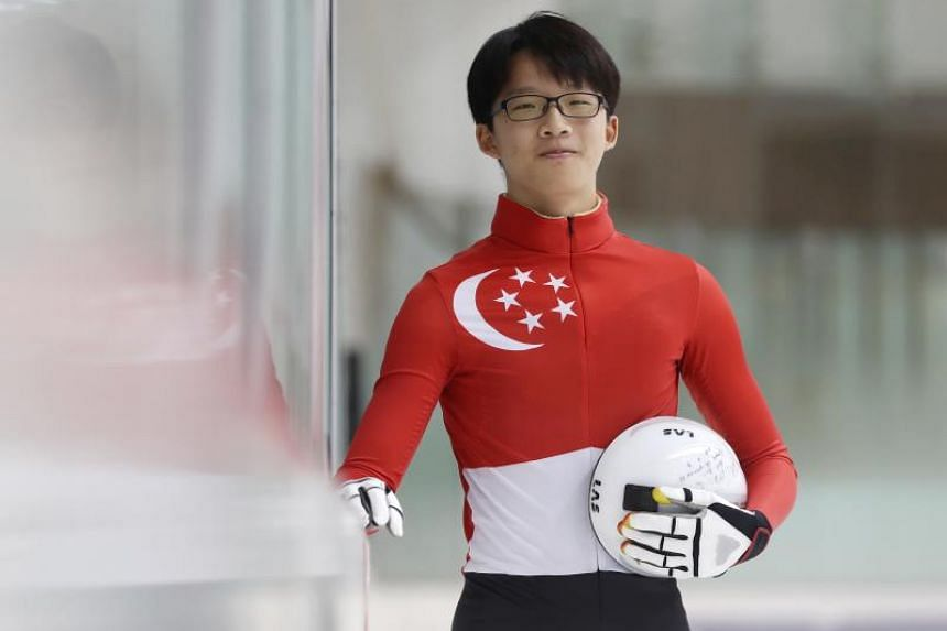 Encouraged by his doctor to pick up exercise to improve his mobility, Xu Jing Feng turned to ballroom dancing before heading to ice skating six years ago.