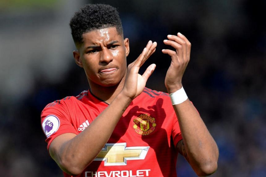 Marcus Rashford (pictured) was Solskjaer's preferred centre-forward ahead of Belgian Romelu Lukaku last season as he finished with 13 goals in 47 appearances across all competitions.