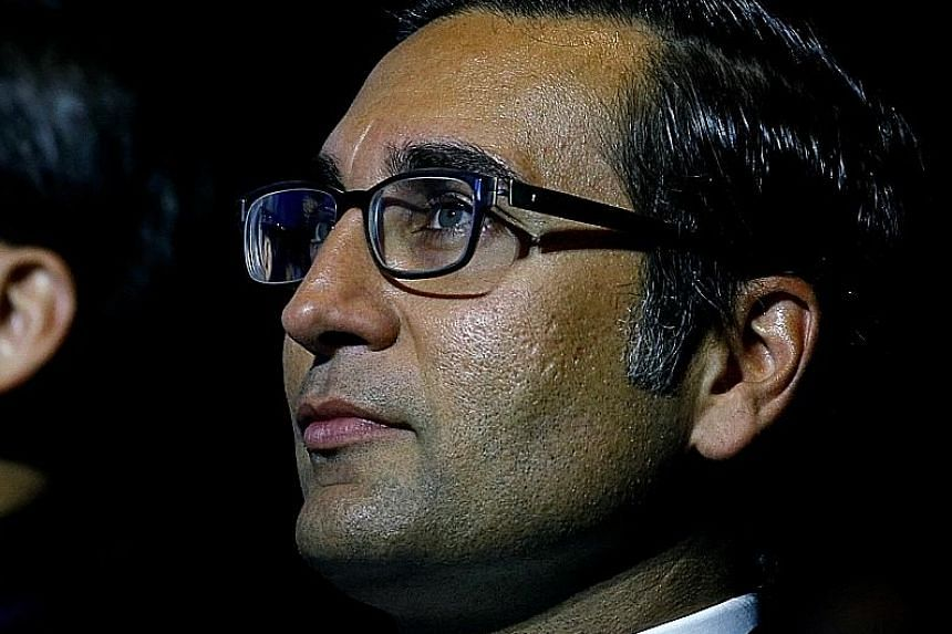 There had been talk earlier that Mr Iqbal Khan might leave Credit Suisse to advance his career elsewhere.
