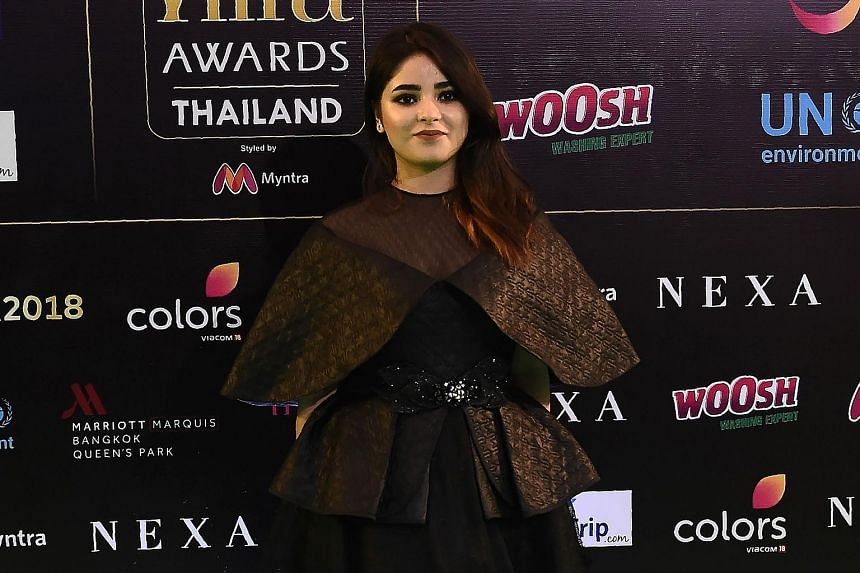 """Bollywood actress Zaira Wasim, who has starred in movies ranked among the highest-grossing Bollywood films, stated on Instagram on Sunday that her five-year career in films had led her down a """"path of ignorance"""" as she """"silently and unconsciously tra"""