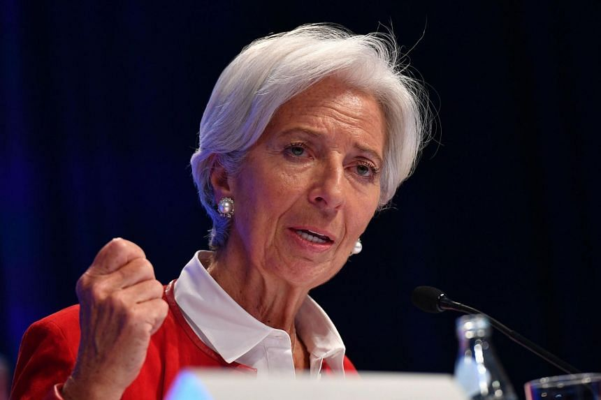 Ms Christine Lagarde will temporarily relinquish her duties as IMF managing director during the nomination period.