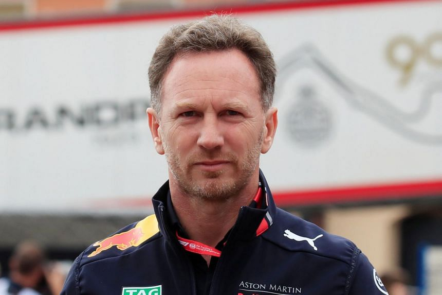 Red Bull Team Principal Christian Horner (pictured) dismissed speculation that Max Verstappen would leave Red Bull.