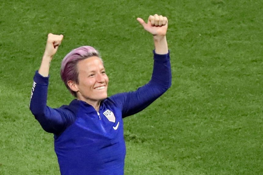 Megan Rapinoe revealed that she had picked up a knock late in the quarter-final win over France.
