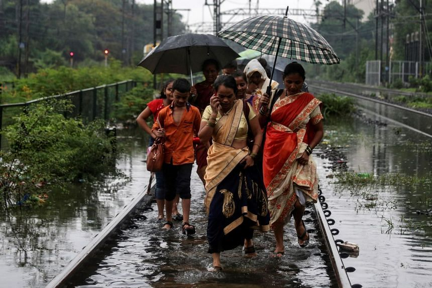 Seasonal rains this week have crippled Mumbai, disrupting rail and air traffic in the city of 18 million, while wall collapses have killed nearly 30 people.