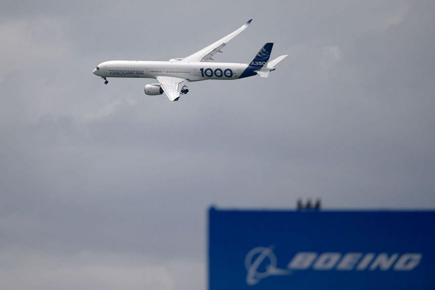 For more than 14 years, Washington and Brussels have accused each other of unfairly subsidising aviation giants Boeing (pictured) and Airbus.