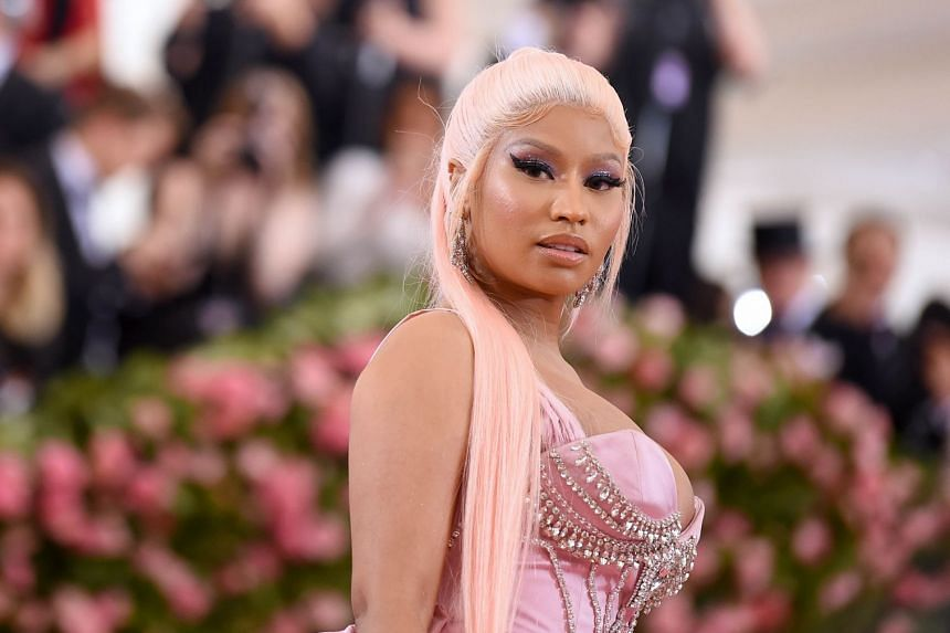 Minaj (above), known for her profanity-laced lyrics and raunchy music videos, will perform in Jeddah on July 18.
