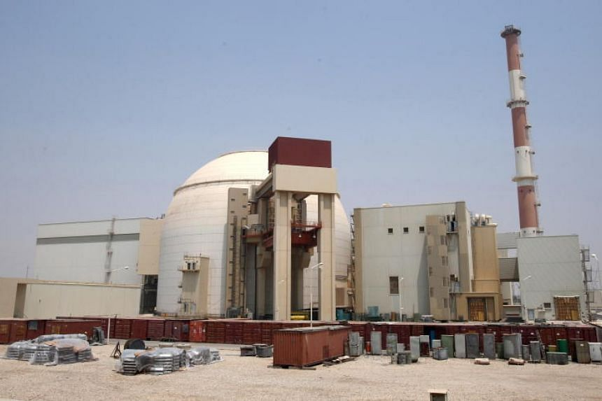An Iranian nuclear power plant in Bushehr, southern Iran. Iran said it will exceed the uranium enrichment limit it agreed in a 2015 deal with major powers.