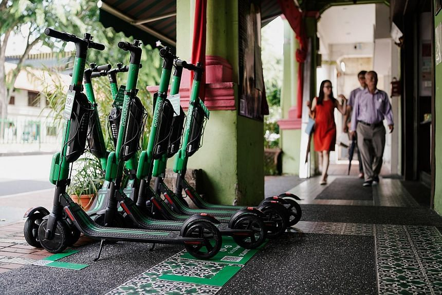 Grab has been making arrangements with small property owners to park and rent out personal mobility devices on their land, even as the Land Transport Authority delays its decision on issuing operating licences, on the grounds of safety. Residents hav