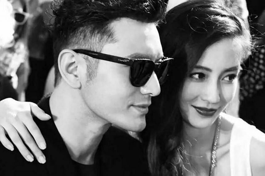 Chinese actress Angelababy and actor Huang Xiaoming tied the knot in 2015, and welcomed their first son - whose nickname is Little Sponge - in 2017.
