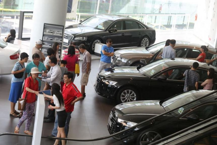 Industry watchers said while crowds have returned to showrooms, market sentiment was still weak.