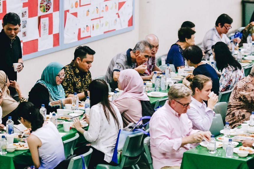 The venues for Common Senses for Common Spaces include schools such as Madrasah Wak Tanjong al-Islamiah and Dunman High School, to ensure that the students and staff have the opportunity to host and be exposed to the wider public. PHOTO: WISE SG