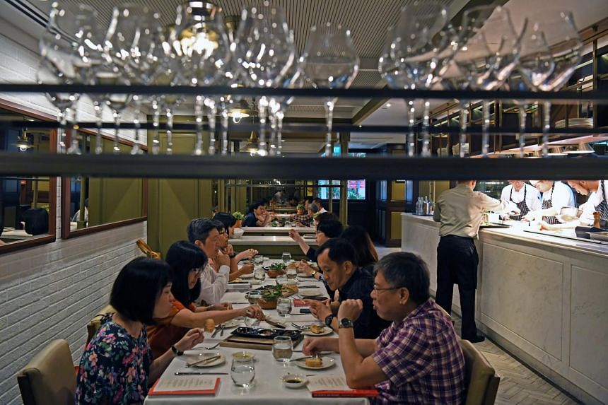Subscribers of The Straits Times dining at celebrity chef restaurant Fratelli Trattoria on July 3.