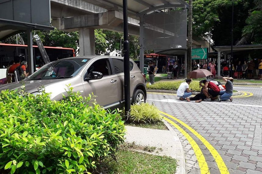 The police were alerted to the accident in Compassvale Street towards Rivervale Drive at 1.10pm on July 4, 2019.