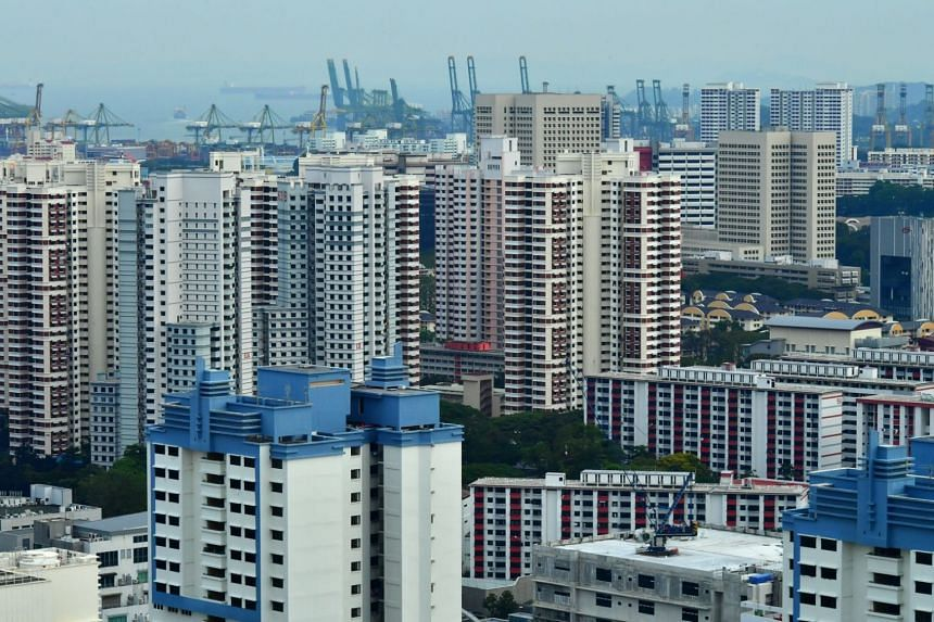 HDB flats in Queenstown. A total of 1,895 HDB resale flats changed hands in June.