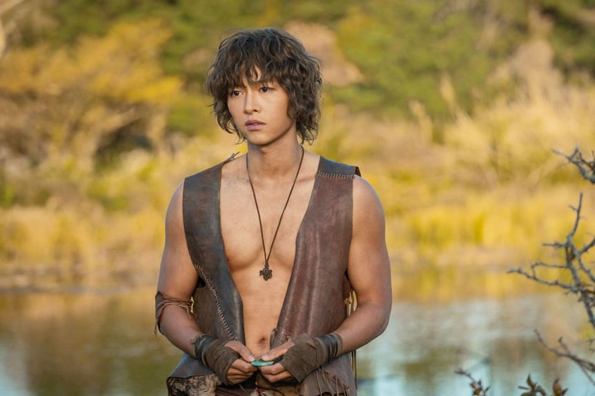 Song Joong-ki plays a hunky warrior in fantasy drama Arthdal Chronicles, set in a mythical land called Arth.