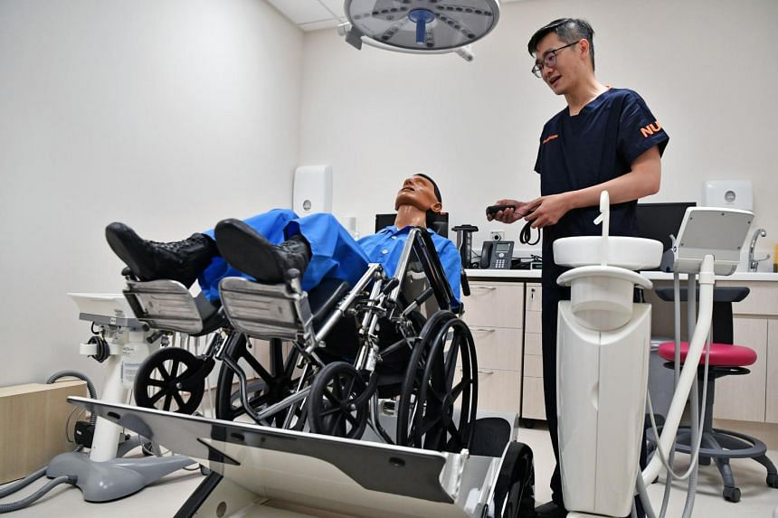 All of its treatment rooms are wheelchair accessible, with one room featuring a wheelchair tilt chair that enables patients to receive treatment in their wheelchairs.