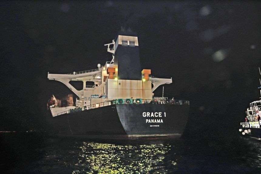 The Grace 1 tanker was halted in the early hours of July 4, 2019.